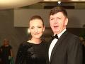 Andrej Bičan prišiel s mladou priateľkou