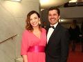 Roman Pomajbo s manželkou