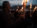 V Budapešti tisíce ľudí kráčali Pochod života: Spomínali na obete holokaustu