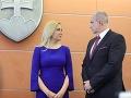 Denisa Saková a Milan Lučanský