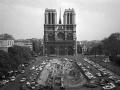 Archívna fotografia Notre-Damu z 18. apríla 1967