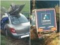 PRÁVE TERAZ pri Rožňave: FOTO Čelnú zrážku auta s kamiónom neprežila jedna osoba