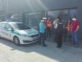 FOTO Policajná kontrola v Zlatých Moravciach odhalila nelegálnu prácu cudzincov