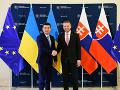 Slovensko sa možno zapojí do rekonštrukcie plynovodu na Ukrajine, tvrdí premiér Pellegrini