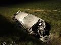 Nešťastie vo Fekišovciach: FOTO Auto skončilo mimo cesty, hlásia zranených