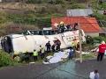 Obrovská tragédia na ostrove Madeira: VIDEO Havaroval autobus plný turistov, hlásia mŕtvych