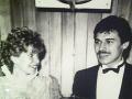 Zuzana Ťapáková a Marek Ťapák na svadobnom zábere