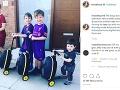 Danielle Lloyd je hrdou matkou týchto štyroch chlapcov.