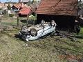 FOTO Vodič zrazil chodkyňu v Trebišove: Utrpela ťažké zranenia, vodič nafúkal takmer promile