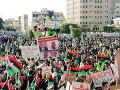 V líbyjskom Tripolise to opäť vrie: FOTO Žlté vesty spustili ďalší protest