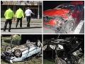 Keď pijete, auto nechajte doma! FOTO Hrôzostrašných nehôd, kosila aj smrť