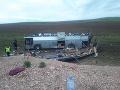 Tragická autobusová nehoda v Kazachstane: Desiatky zranených, jedenásť ľudí neprežilo