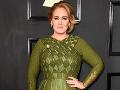 Speváčka Adele.