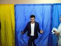 Volodymyr Zelenskyj je jasný favorit volieb