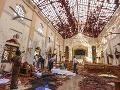 Počet obetí útokov na Srí Lanke sa zvýšil na 310: Štátny smútok, polícia zadržala už 40 osôb