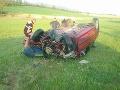 Vážna nehoda v Jablonici: FOTO Zrážka kamiónu s autom, zasahuje aj vrtuľník