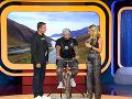 "Adela a Dano posadili Kaliho po rokoch na bicykel a pripomenuli mu tak ""nočnú moru"" z detstva."