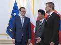Japonský premiér prvýkrát na Slovensku: S Pellegrinim diskutovali o investíciách