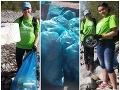 Deti vyčistili brehy Liptovskej Mary: FOTO Vyzbierali kopu odpadu, tieto nálezy ich šokovali