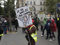 FOTO Macronove návrhy nerešpektujú: Demonštranti žltých viest opäť v uliciach