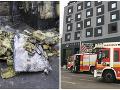 MIMORIADNE Požiar známeho hotela v centre Bratislavy
