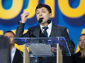 Oficiálne výsledky ukrajinských volieb: S takýmto náskokom vyhral Zelenskyj