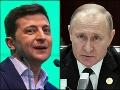 Prvý telefonát Putina so Zelenským: Hovorili o vojne na východe Ukrajiny