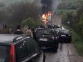 Hrozná tragédia v Srbsku: VIDEO Autobus sa čelne zrazil s kamiónom, štyria ľudia zhoreli zaživa