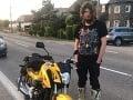 Mladík na FOTO šokoval nitrianskych policajtov: Len čo si kúpil motorku, potvrdilo sa najhoršie