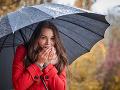 Počasie sa vyšantí: Dáždniky neodkladajte, očakávajte aj studený front od západu