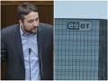 Eset podal žalobu na Blahu za jeho vyjadrenia na adresu firmy: Snažia sa ma umlčať, tvrdí poslanec