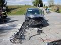 Nehoda v okrese Detva