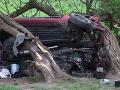 Tragédia pri Voznici: Sobotňajšia havária sa pre dvoch mladých ľudí stala osudnou