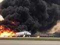 Desivé VIDEO z paluby: Pasažieri v Moskve kričali od strachu, lietadlo sa zmenilo na ohnivú pascu