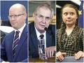 Zemanove urážky prerážajú dno: Poznámky k bývalým premiérom, mladá aktivistka je len hysterka