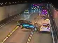 Smrteľná viacnásobná havária v španielskom tuneli: VIDEO Najlepšie obišlo elektrické auto