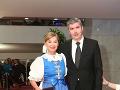 Súrodenci Alena Heribanová a Vladimír Repčík
