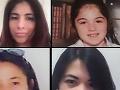 Prvom rade: Livia Florentina Bunea a jej dcérka Elena. V druhom rade: Maricar Valdez Arquiolaová a Arian Palanas Lozanová. V treťom rade: Mary Rose Tiburciová a jej dcérka Sierra.