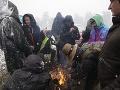 Návštevníkov festivalu nečakane prekvapil sneh: FOTO Zachraňovať ich museli kvôli podchladeniu