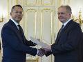 Kiska vymenoval Kamenického za ministra financií: VIDEO Reagoval aj na možné personálne zmeny