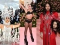Šokujúce kreácie TOP hviezd: Katy Perry ako luster, striptíz Lady Gaga, zo speváka žena a sexi herec... Preboha!