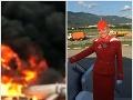 Letuška Tatiana vykopla dvere, ľudí vyhadzovala z horiaceho pekla: FOTO Zachránila desiatky životov