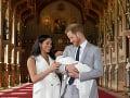 Meghan Markle a princ Harry ukázali prvorodeného synčeka.