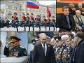 Andrej Danko počas vojenskej prehliadky v Moskve