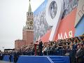 Rusko sa svojej vojenskej prehliadky nevzdá: Putin nariadil, aby sa konala o mesiac