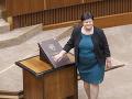 Návrat do parlamentu: Za Kamenického nastúpila Gabániová, zložila sľub