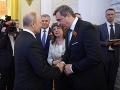 Andrej Danko a Vladimir Putin