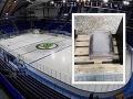 Fínsky fanúšik preveril pozornosť Slovákov: FOTO Podozrivý predmet po hokeji na košickom štadióne