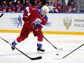 Putin nastrieľal v hokejovom zápase osem gólov: VIDEO Potom prišiel trapas, zakopol a spadol