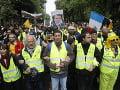 Žlté vesty vyšli opäť do ulíc: V poradí 49. protest sprevádzala nízka účasť